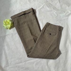 Pants - Gap size 8 regular stretch plaid wool and spandex